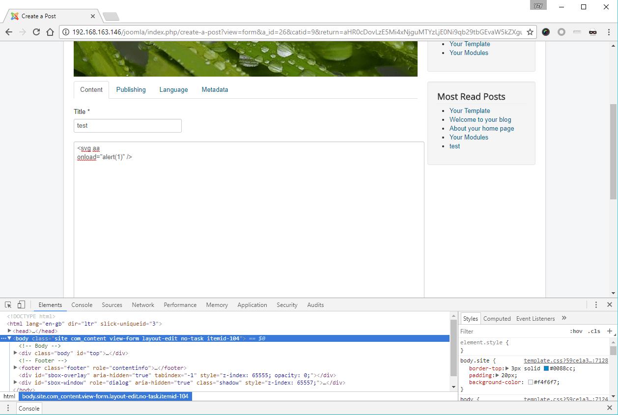 incomplete patch more joomla core xss vulnerabilities are found