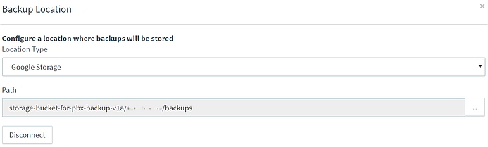 Google Storage Buckets in 3CX Update 5.